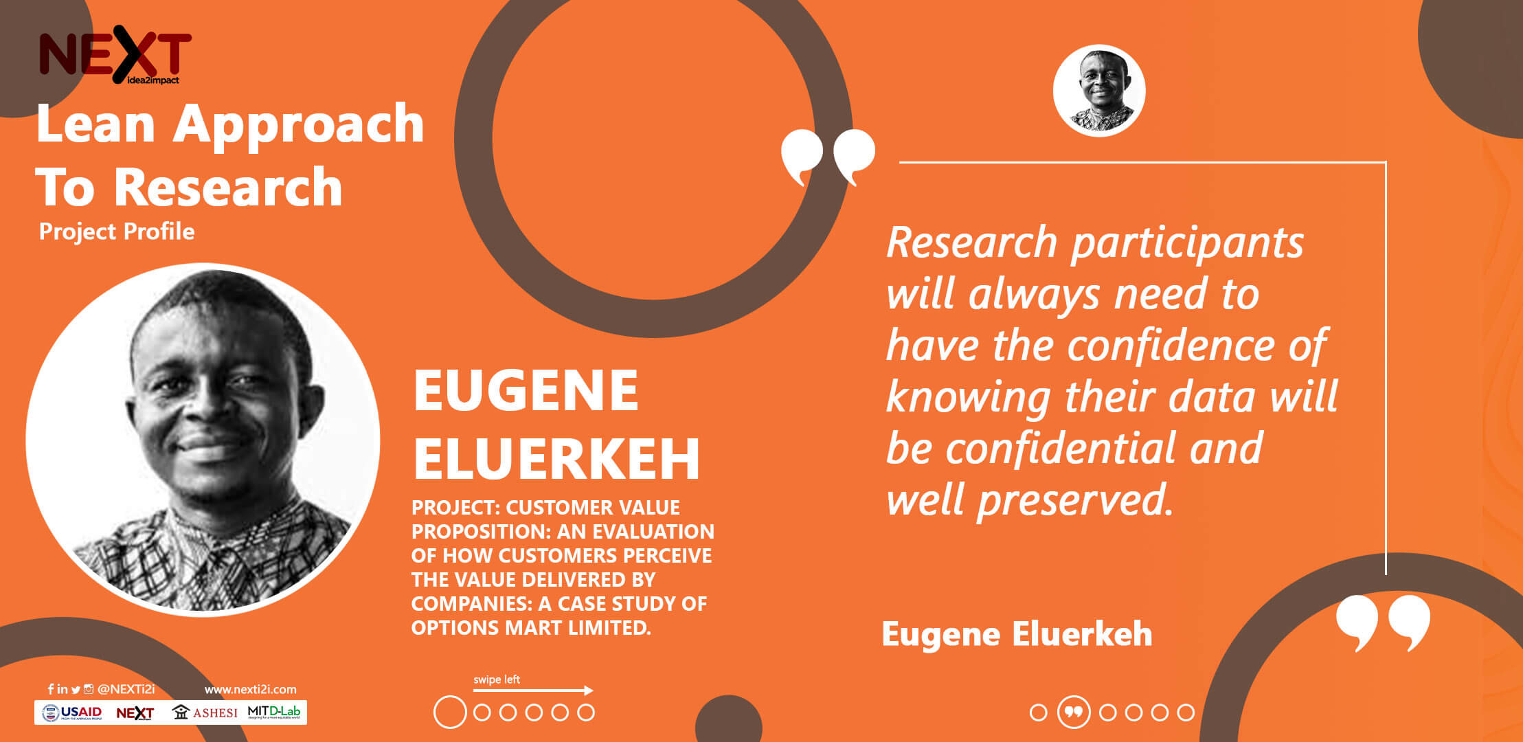 Ashesi Lean Research | Eugene
